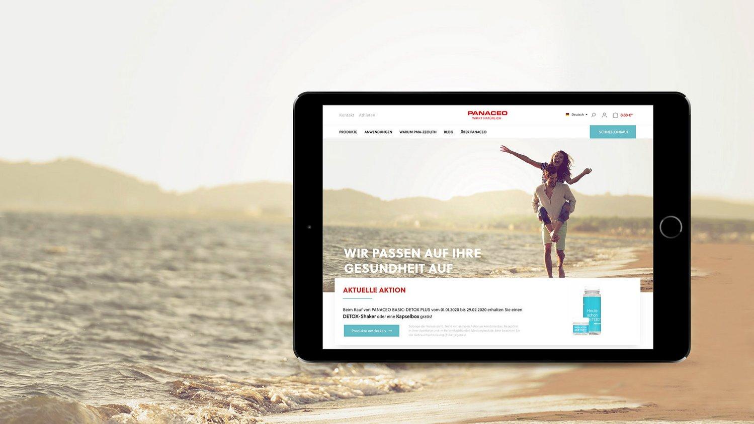 Onlineshop für: panaceo-shop.com
