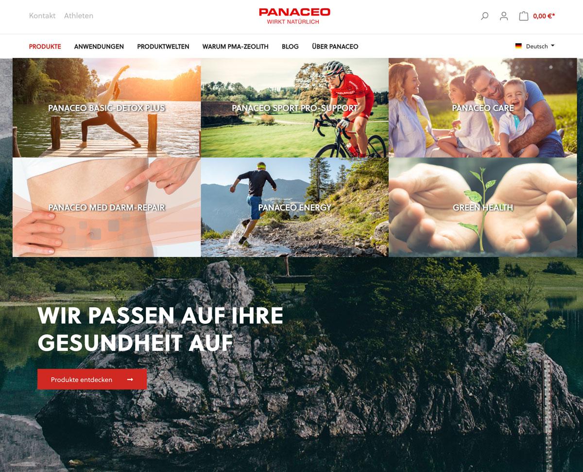 Panaceo Onlineshop - Shopware 6