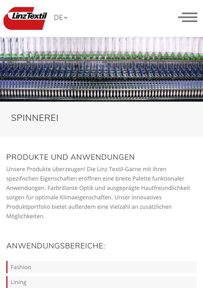 Linz Textil - Spinnerei