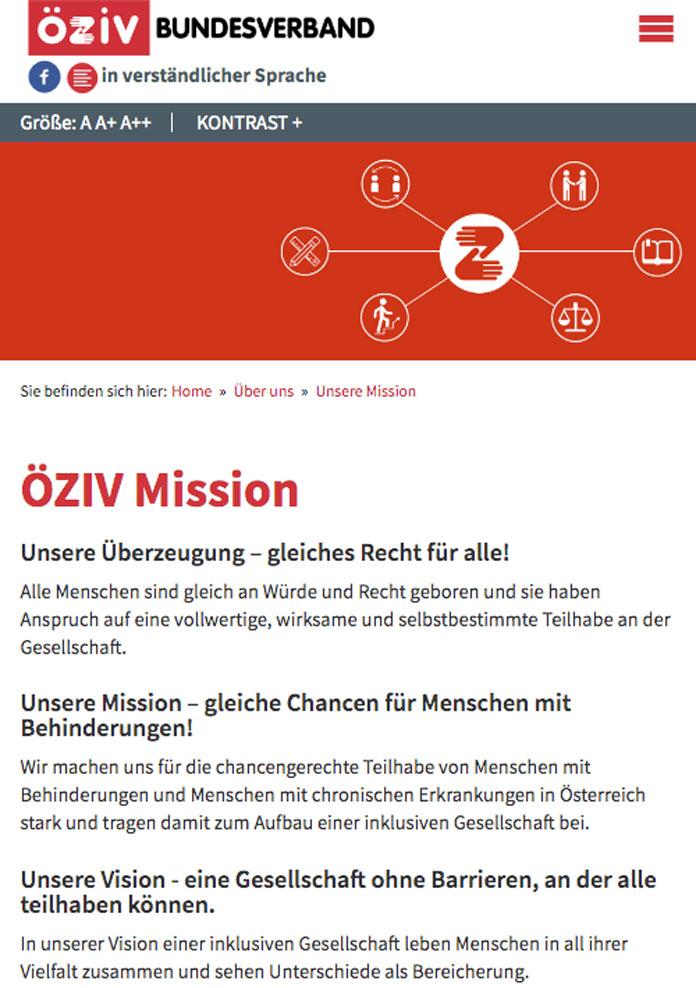 ÖZIV Mission