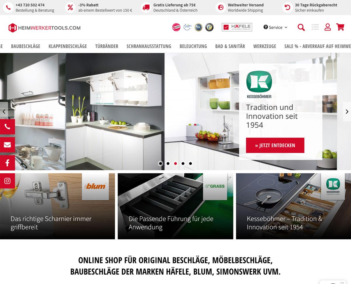 Heimwerkertools Homepage