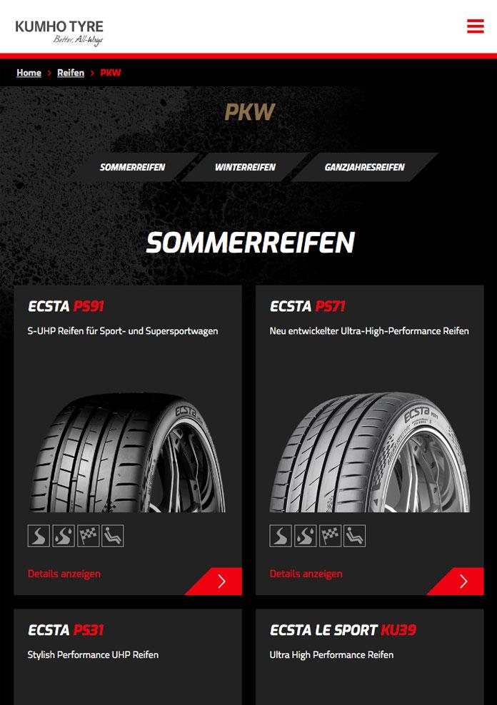 KUMHO TYRE Reifen