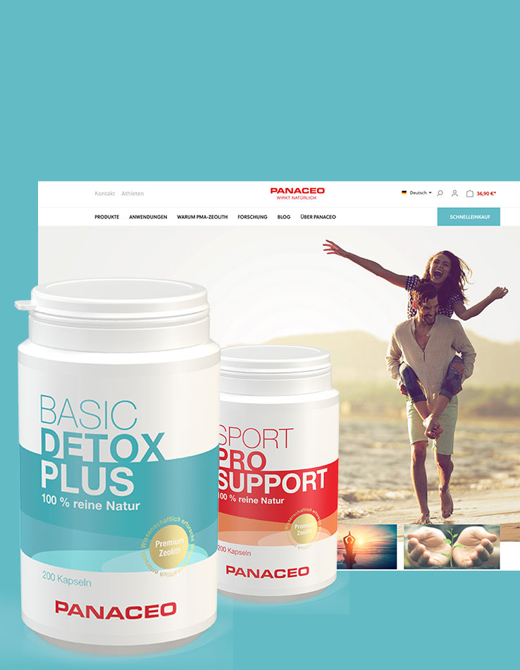 Panaceo Onlineshop - mit Shopware 6