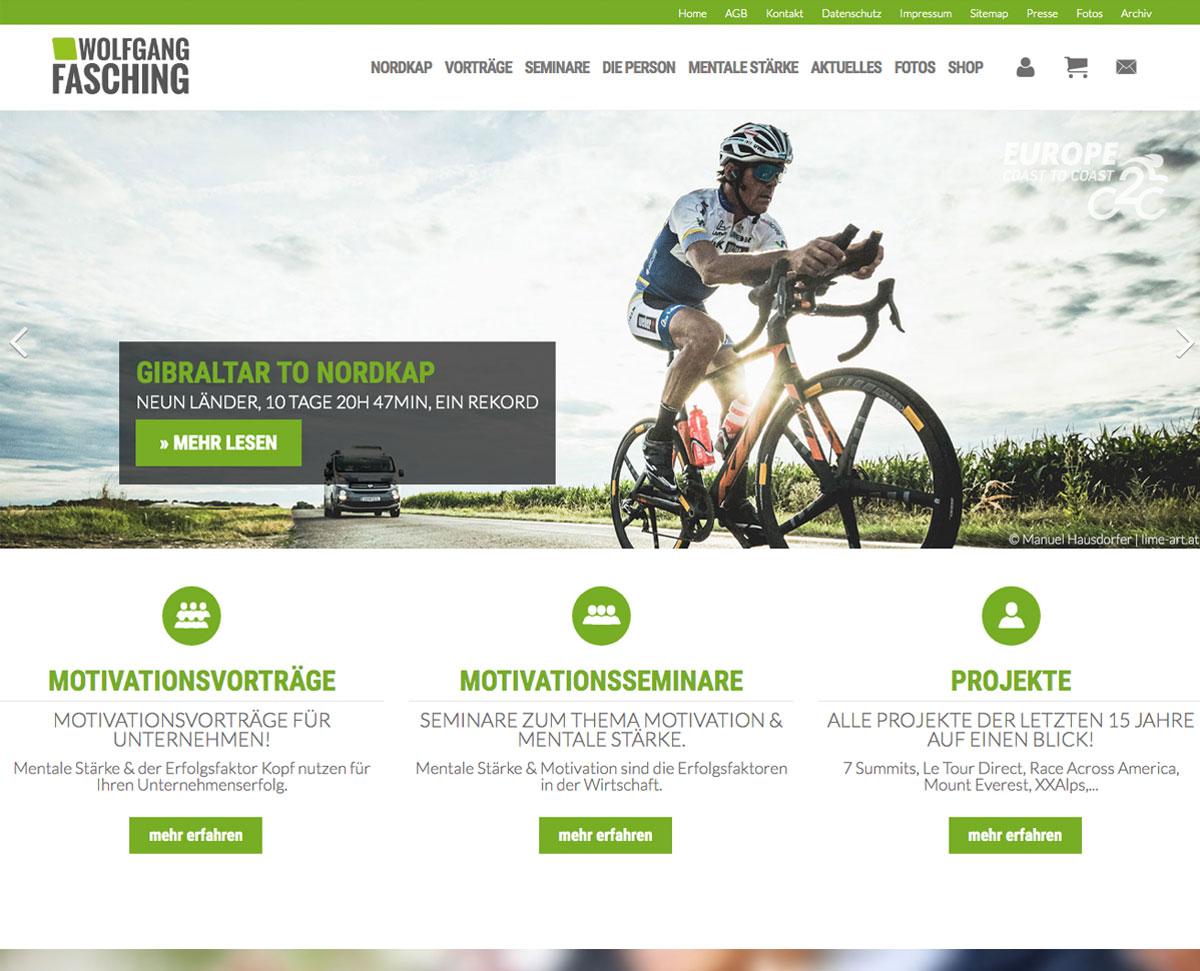 Wolfgang Fasching Homepage