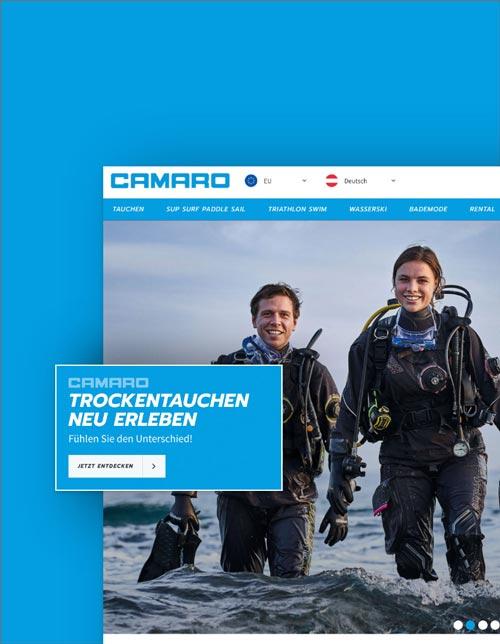 Camaro Shopware Onlineshop