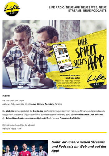 Newsletterversand – Gezielte Kommunikation mit Email Marketing
